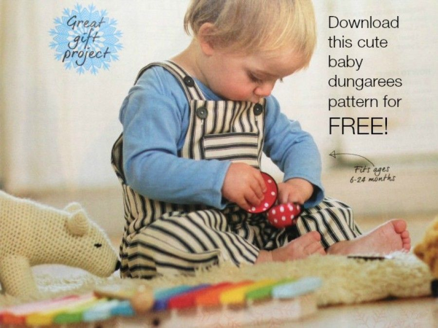 Free Baby Dungarees Pattern! | Sewing for babies | Pinterest | Rund ...