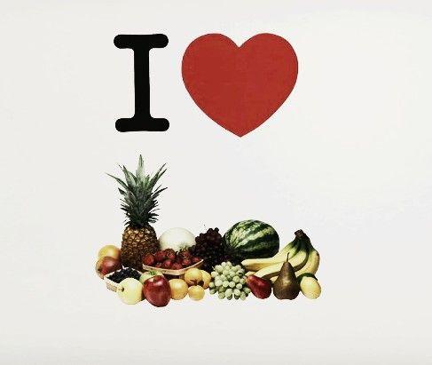 I love Myself! De aceea, aleg să mănânc sănătos. #TomorrowIsNow #food #health #fruit #ilove #inspire #campaign