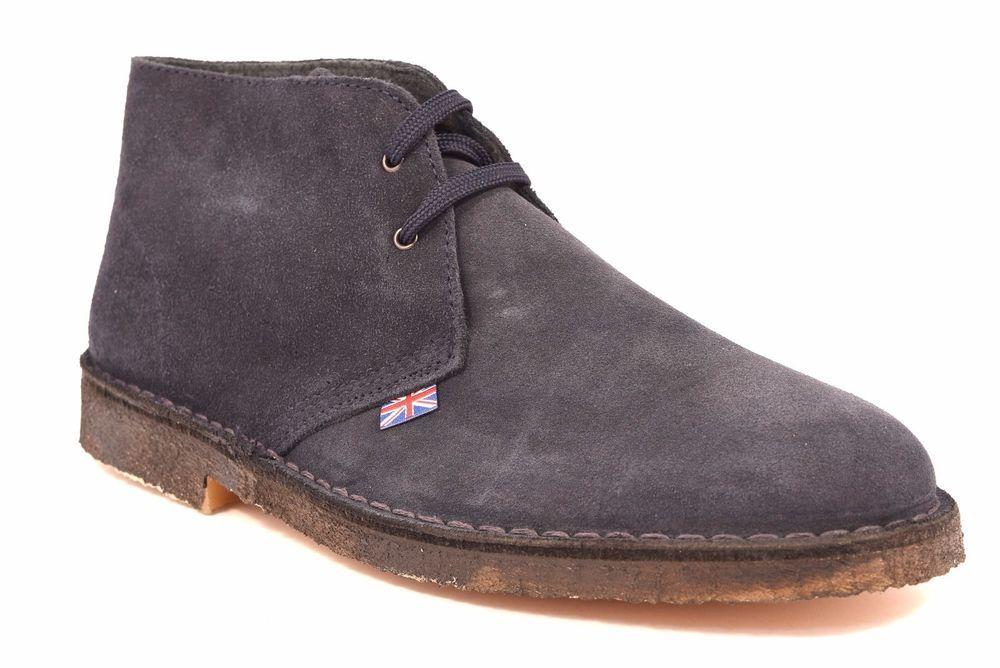Scarpe Tipo Desert Boot Clarks Polacchino Blu Uomo SAFARI