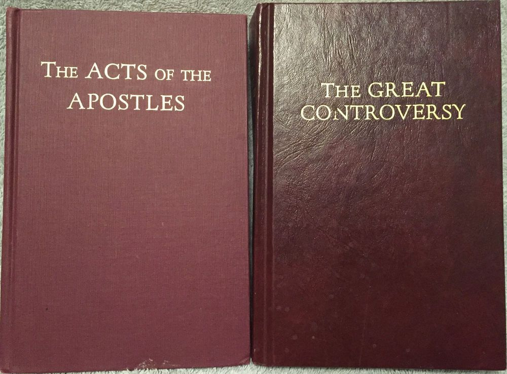 Ellen G White Duo The Great Controversy The Ministry Of Healing