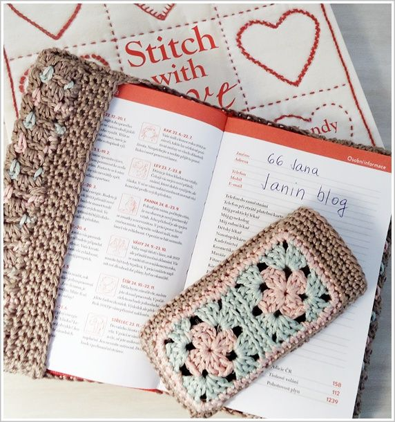 Jane's blog: Cover for notebook and mobile phone
