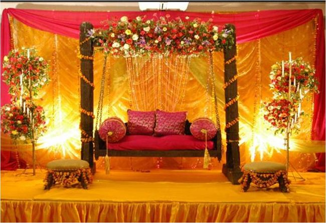 Mehndi Decoration Hall : Cool mehndi stage decoration images my wedding