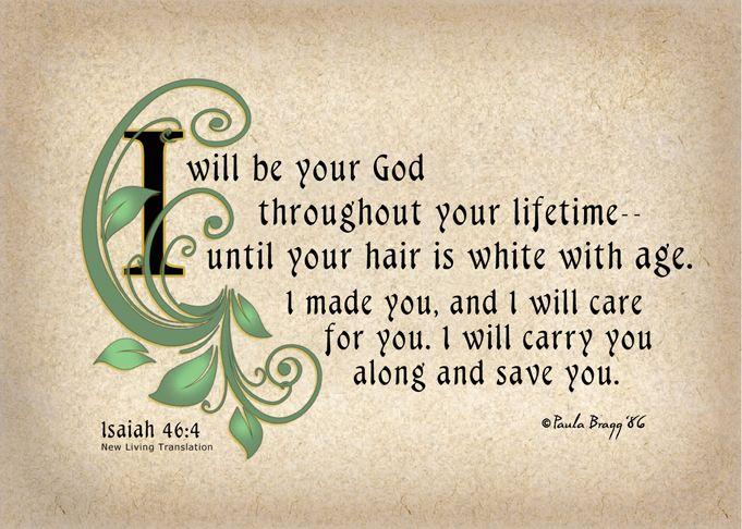 Verse For Today 15 04 Isaiah 46 4 Pjnaijaexpress Isaiah 46