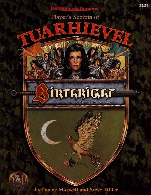 Player S Secrets Of Tuarhievel 2e Birthright Book