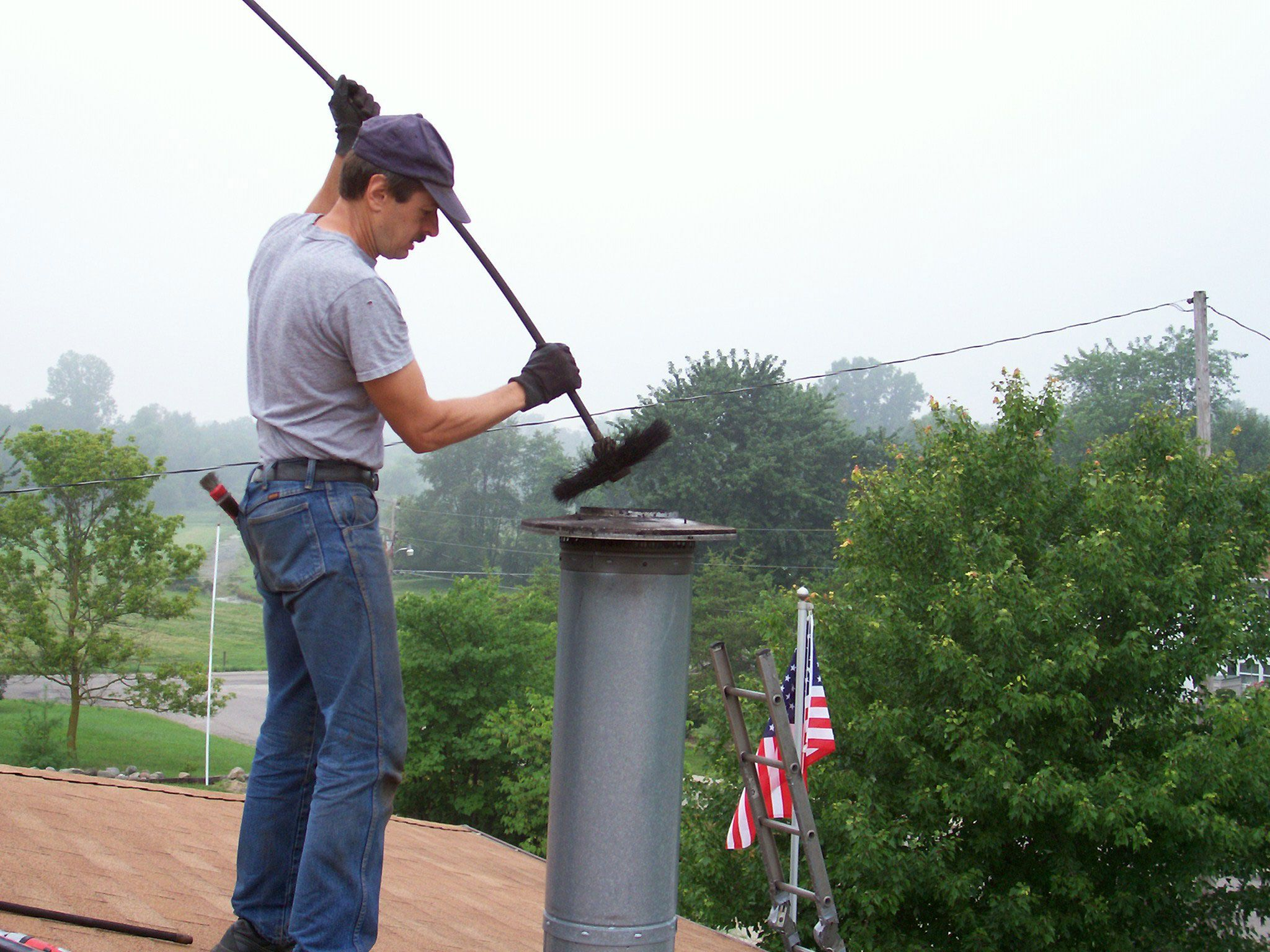 How much does a chimney sweep cost? Cleaning costs to know