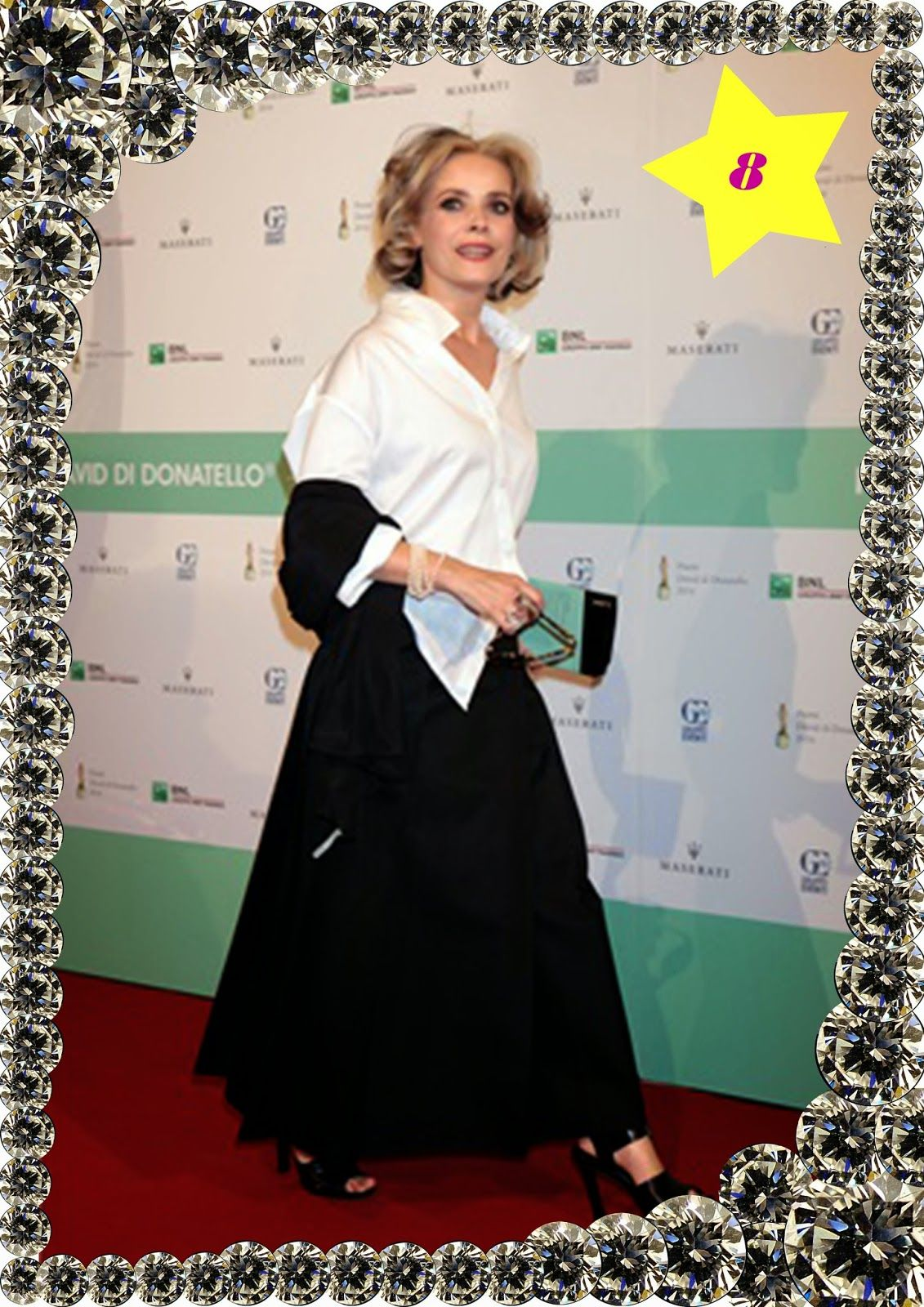 chiffon-issima #David2014, #festadelcinemaitaliano, #RedCarpet,  #star, #cinema, #moda, #fashioncool, #fashionstar,  #fashionvictim