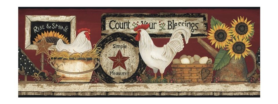 Country Kitchen Wallpaper Border | Country Wallpaper Borders Country  Wallpaper Borders Country Wallpaper .