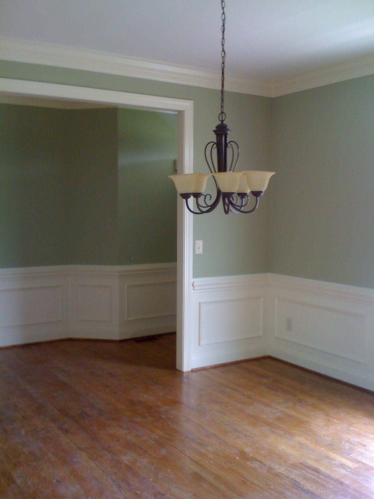 sherwin williams softened green and dover white color on sherwin williams dining room colors id=62177