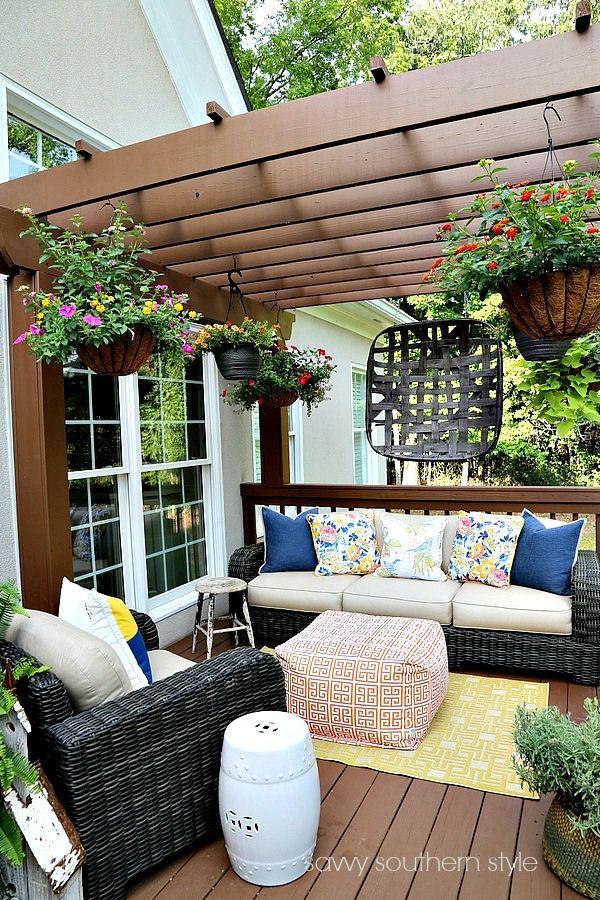 Patio Design, Deck Decorating, Patio