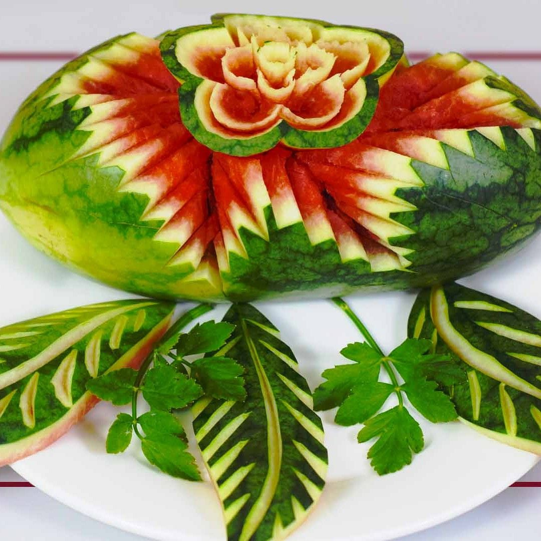 how to make watermelon carving