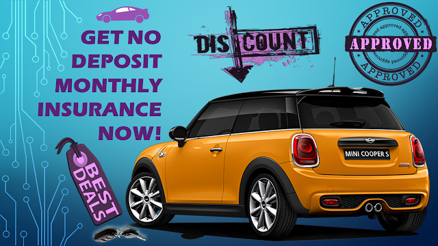Tips To Get Month To Month Car Insurance - No Deposit And No Credit Check Required | Auto ...