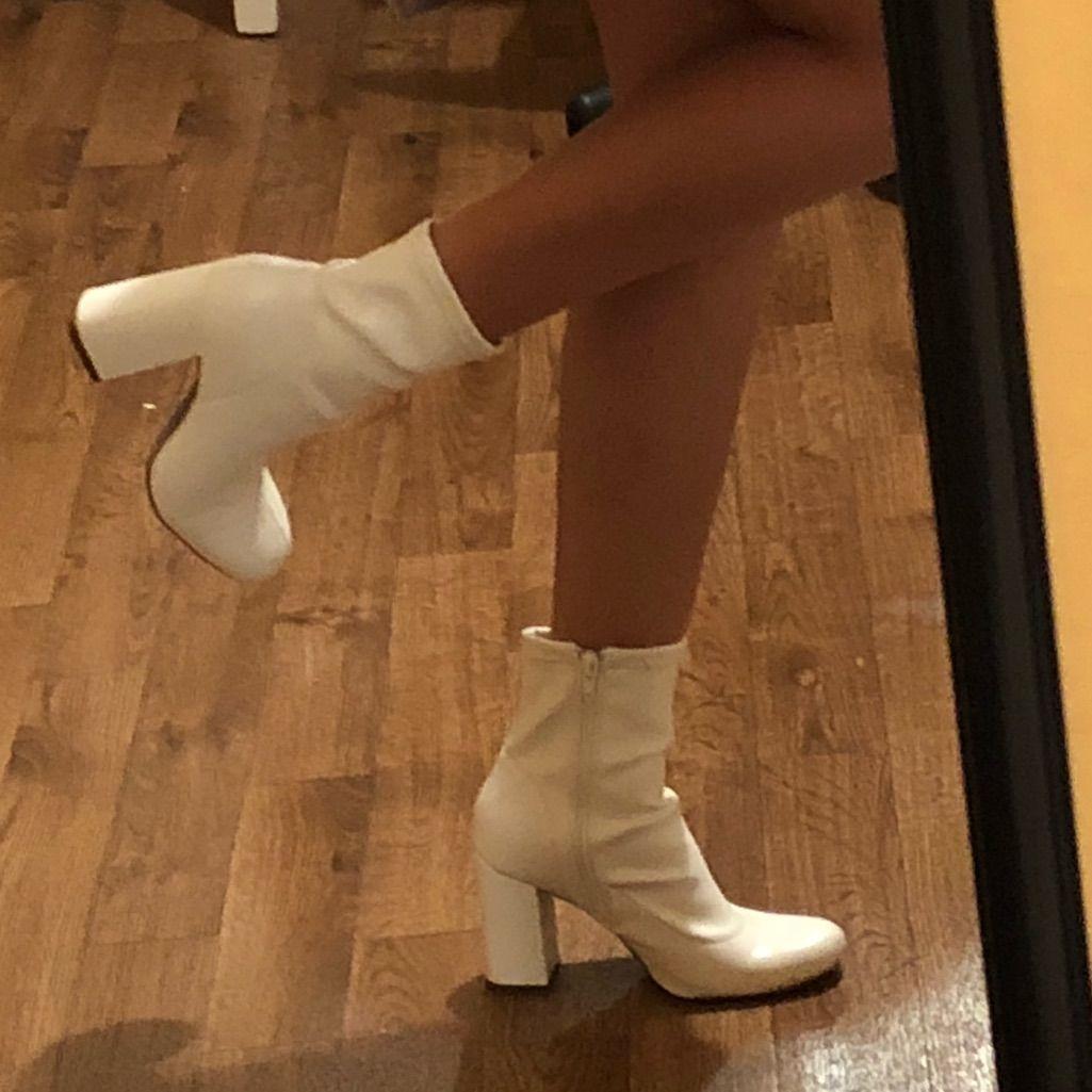 Vintage Gogo Boots | Color: White | Size: 6 5