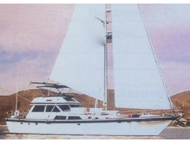 lancer yachts 70 motorsailer located in california for sale