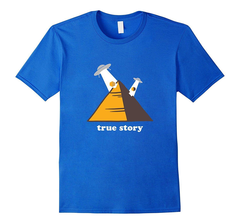 Aliens Built the Egyptian Pyramids T-Shirt
