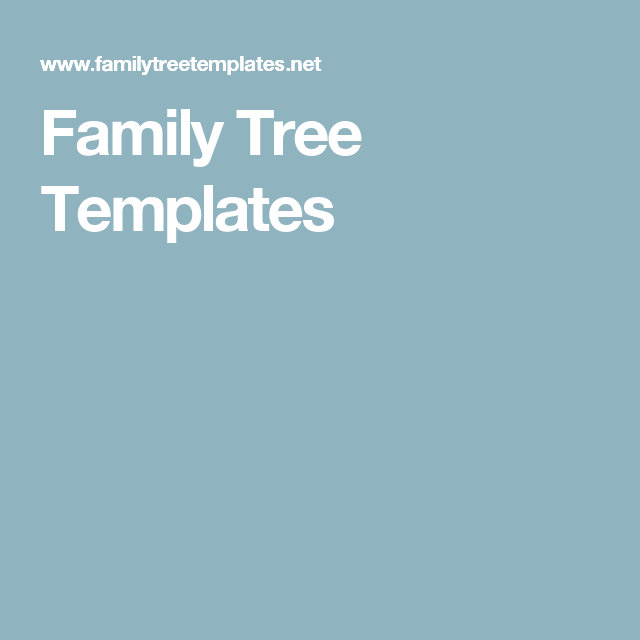 family tree templates go to officeworks and print a3 and write out