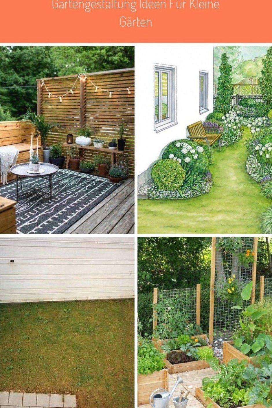 Kleinergarten Gartengestaltung Ideen F R Kleine G Rten Gestalten Str Ucher Sichtschutz In 2020 Gartengestaltung Ideen Gartengestaltung Kleiner Garten