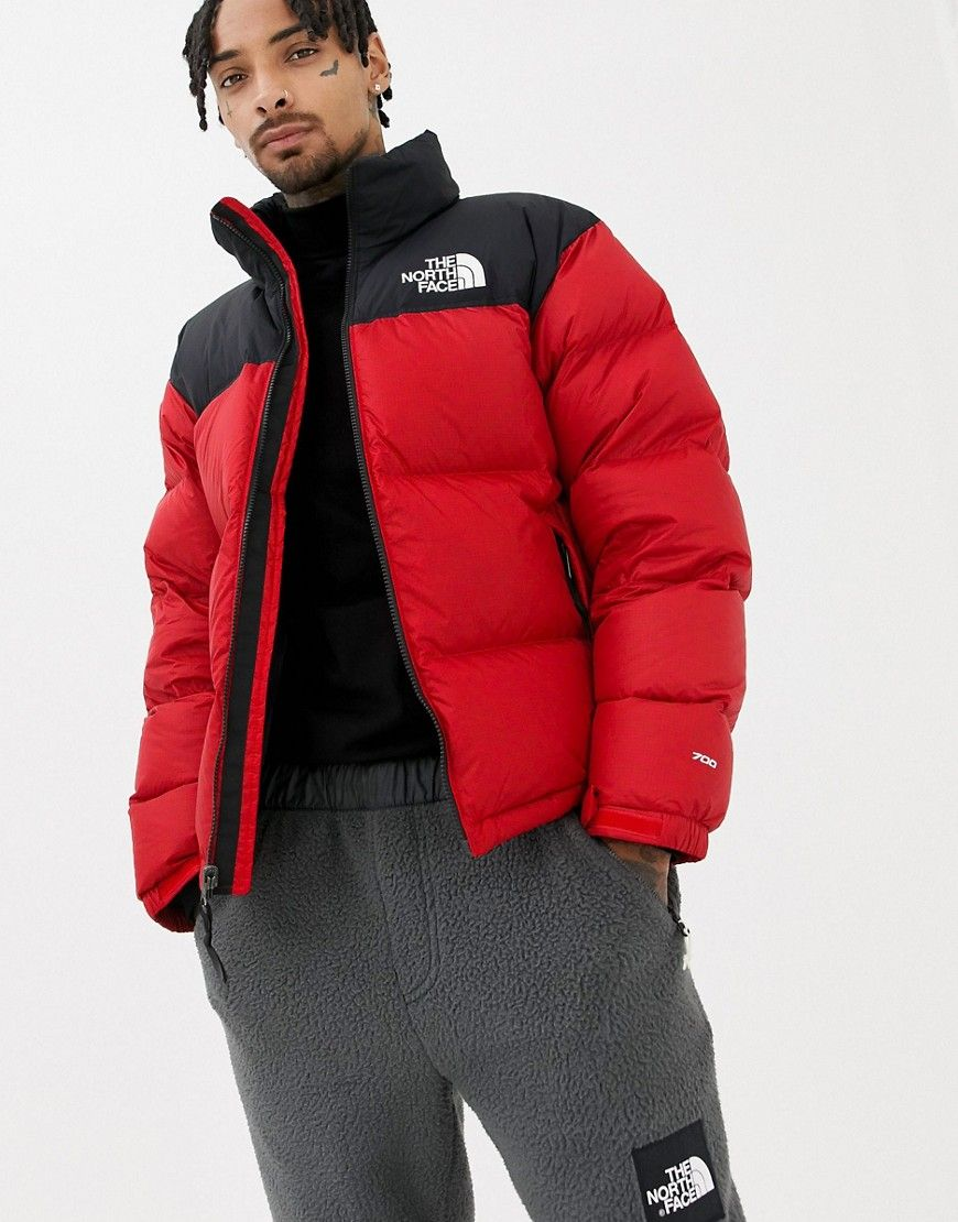 aed3b16e0c THE NORTH FACE 1996 RETRO NUPTSE JACKET IN RED - RED.  thenorthface  cloth