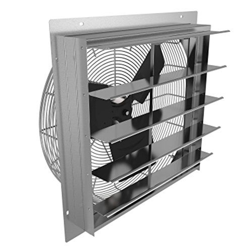 wall shutter mount exhaust fan fantech