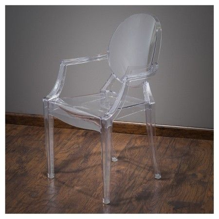 Cayden Pc Armchair Transparent Clear Christopher Knight Home