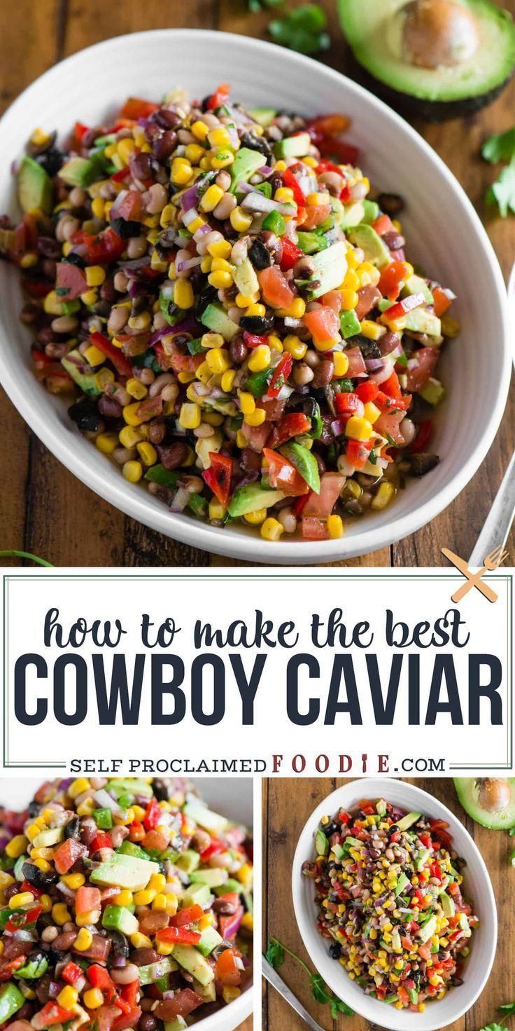 {The BEST} Cowboy Caviar Recipe | Self Proclaimed Foodie