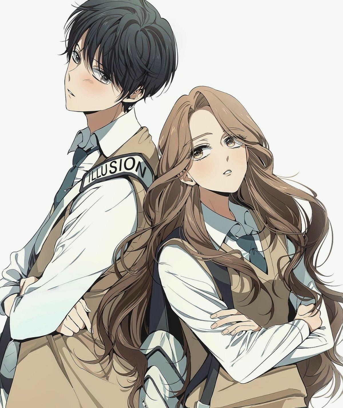 Pin On Anime Wallpaper Anime manga couple wallpaper