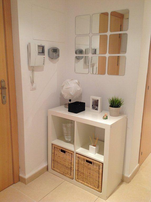 C mo decorar un recibidor peque o organizadores for Soluciones apartamentos pequenos