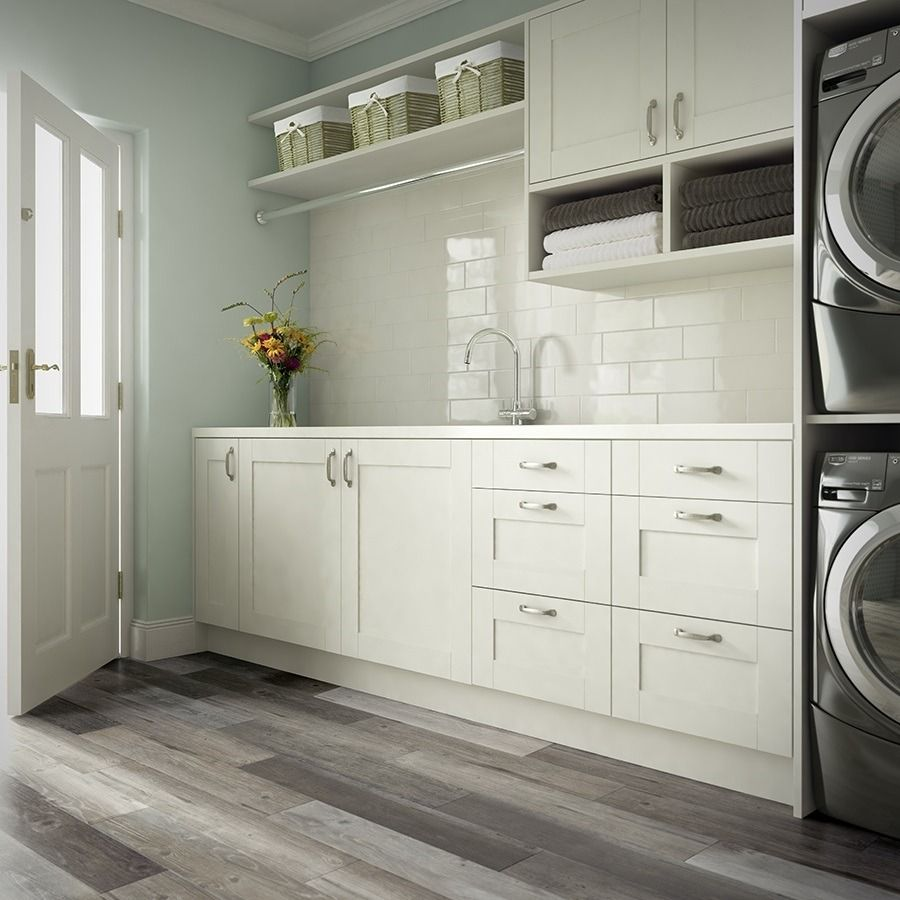 Complete Your Mudroom Or Laundry Room With Wood Look Tile Floors