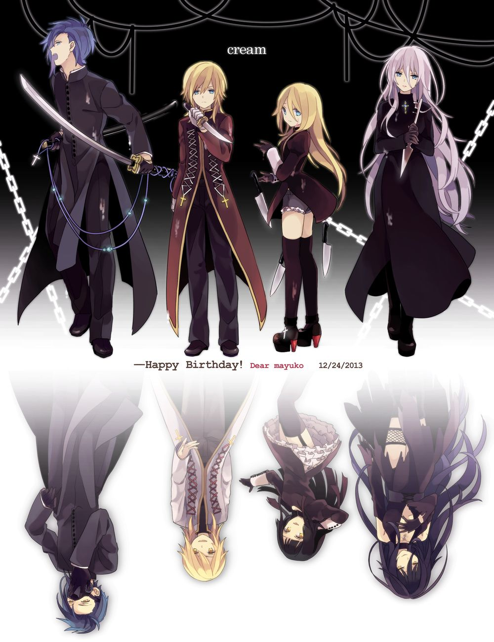 Vocaloid - KAITO, Kagamine Len and Rin, IA | Vocaloid | Pinterest ...