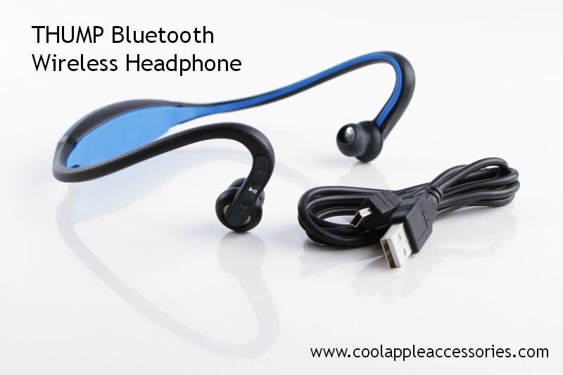 Introducing thump a bluetooth wireless headphone