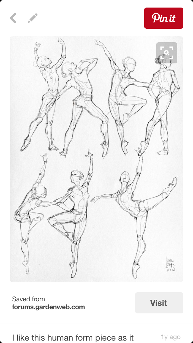 Pin By Darian June On Drawing People Dancing Drawings Sketches Art Reference Poses