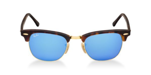 9c43689842 Check out Ray-Ban RB3016 49 CLUBMASTER sunglasses from Sunglass Hut http