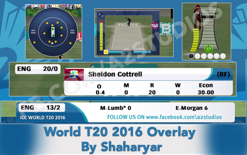 Pin On A2 Studios Icc World T20 Wc 2016 For Ea Sports Cricket 07