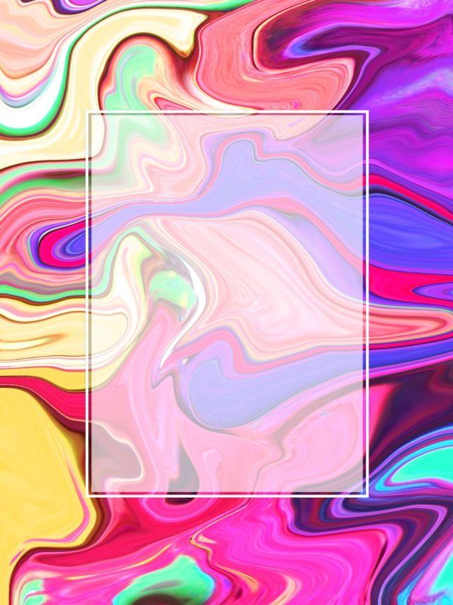 Творческий витой разноцветный жидкий краска ветра фон ...