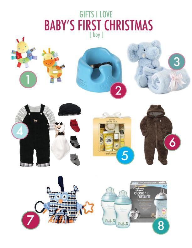 Babyu0027s First Christmas   Baby Boy Gift Ideas