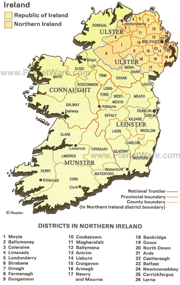 Districts in Northern Ireland IRELAND Mo chro Pinterest