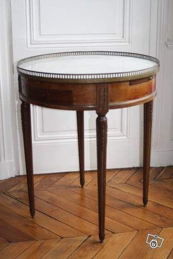 Table Bouillotte Style Louis Xvi En Acajou Ameublement Rhone Leboncoin Fr Ameublement Mobilier Ancien Mobilier