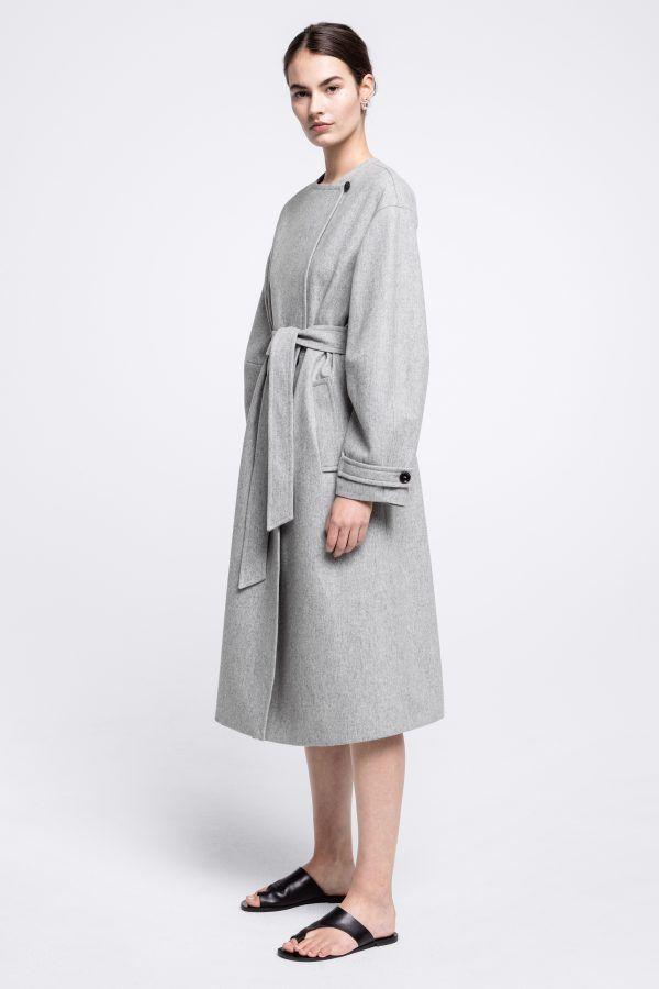 Calista light wool Coat – House of Dagmar  815600d18a0fe