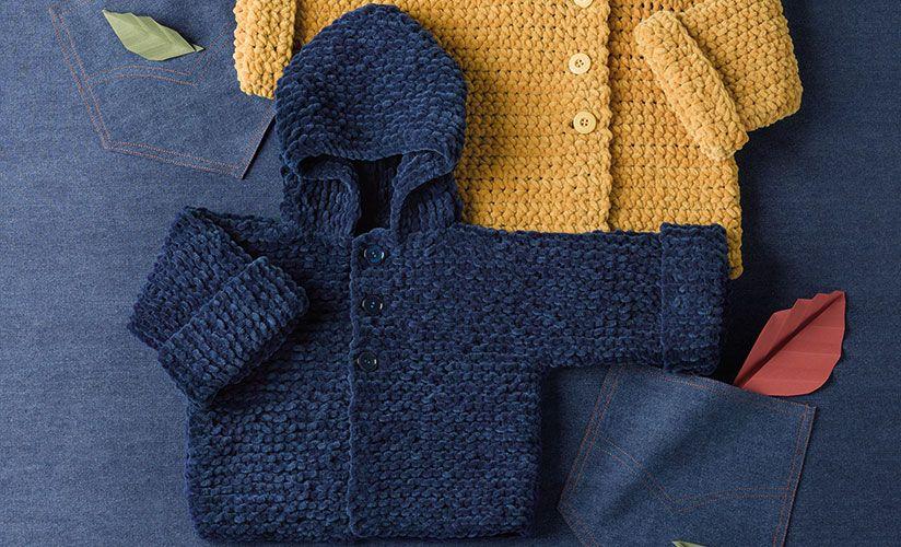 Revista bebé 78 Otoño / Invierno   40: Bebé Abrigo   Azul oscuro ...