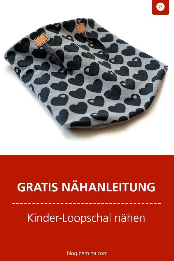 Photo of Kostenlose Nähanweisungen: Nähen Sie den Schal / die Schlaufe für Kinder