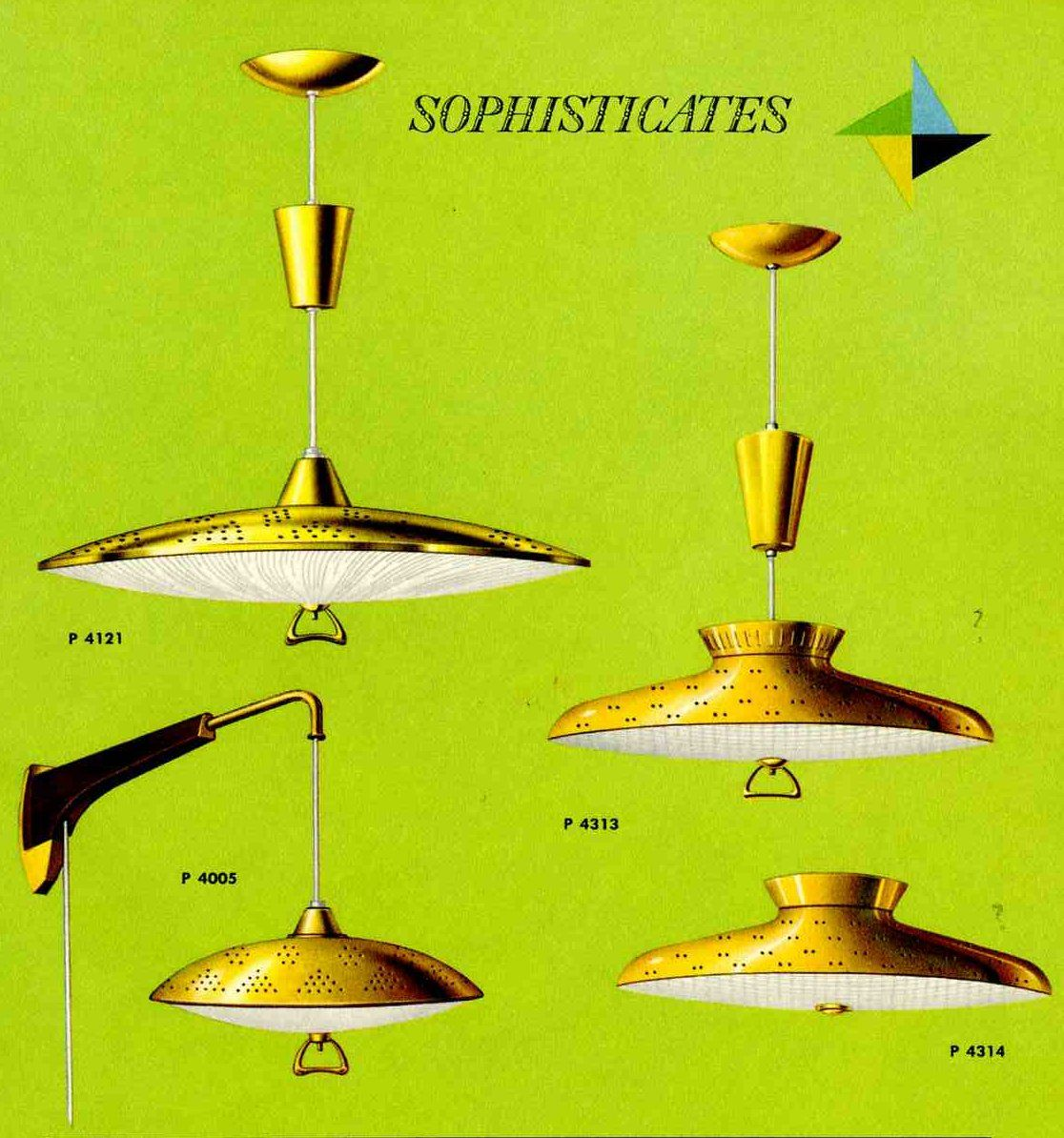 Mid Century Vintage Lights For Sale: Great Retro Pull Down Lights For Your Kitchen, From