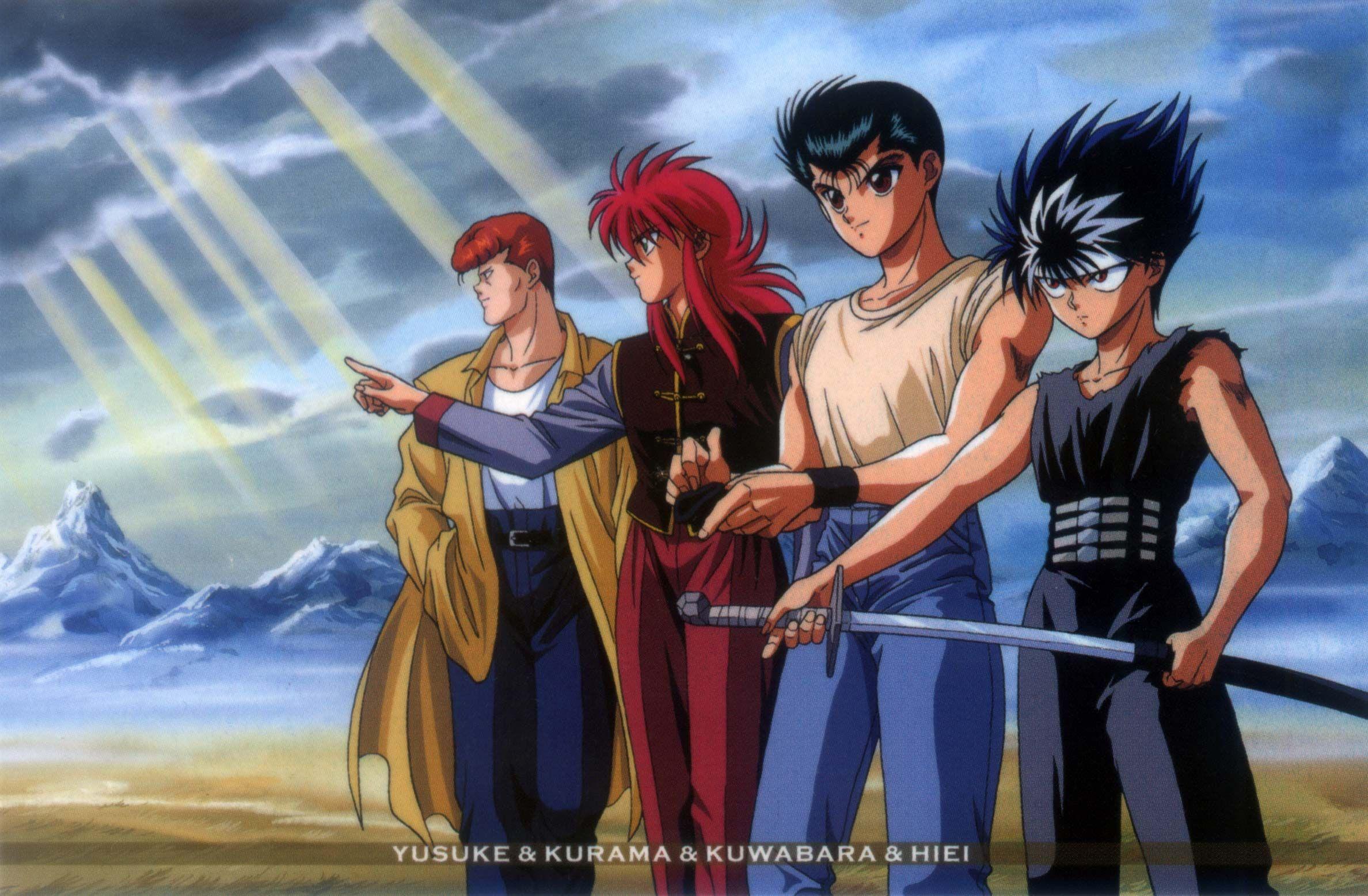 Yusuke Urameshi Wallpaper Hd Yuyu Hakusho Anime Yu Yu Hakusho