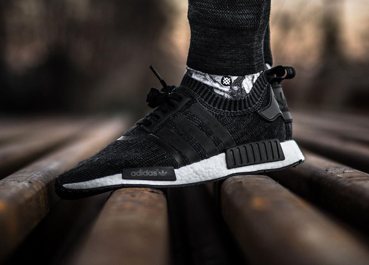 new style 469bc 8be32 Adidas NMD R1 Winter Wool Primeknit - Core Black - 2016 (by timboslice1337)  Pack and travel with shoe trees by Sole Trees  Sneakers  ShoeTrees   SoleTrees   ...