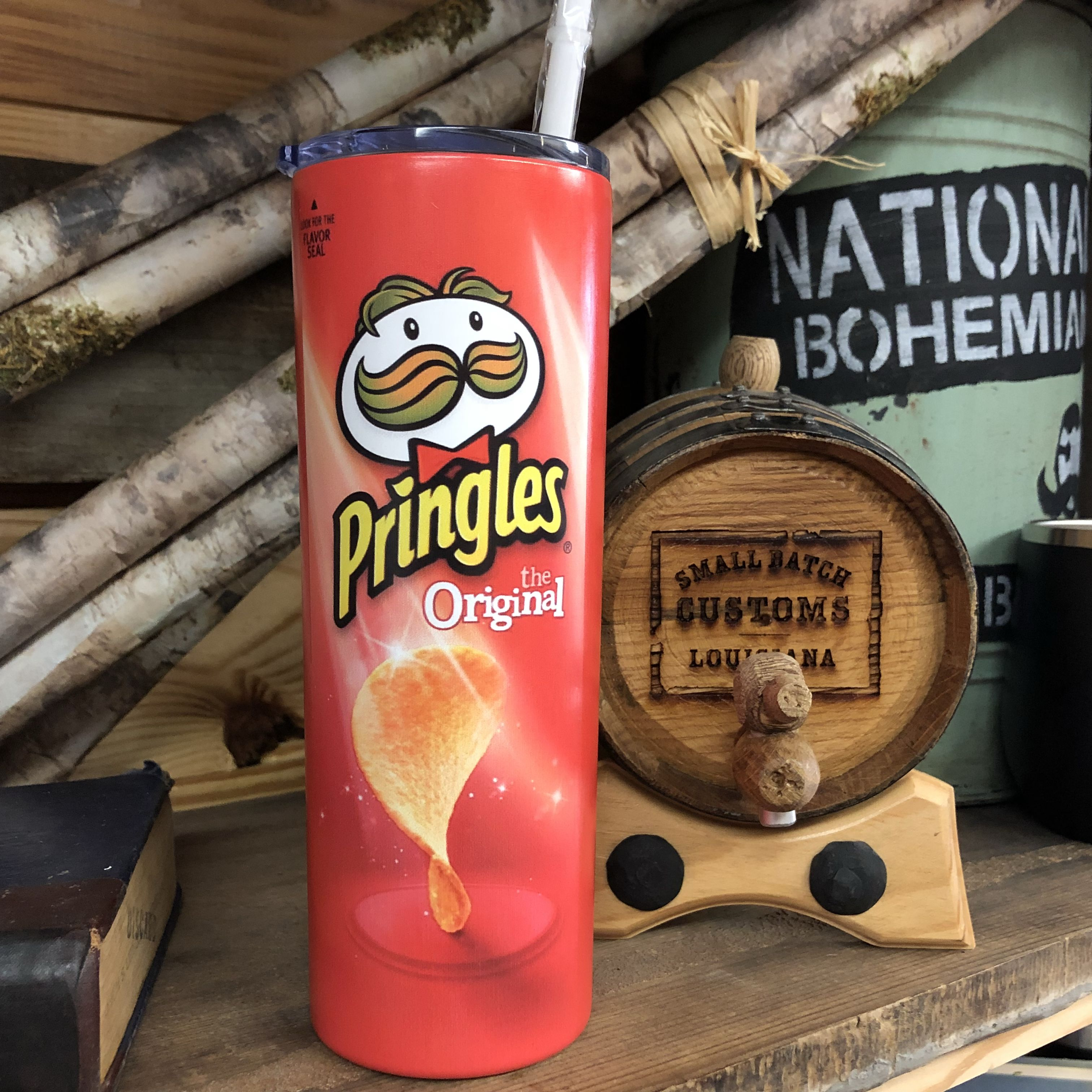 Pringles 20oz Insulated Tumbler Cup Coffee cup crafts