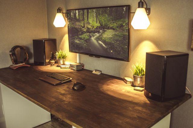 Gaming Desks Composers desks Computer desk setup, Ikea