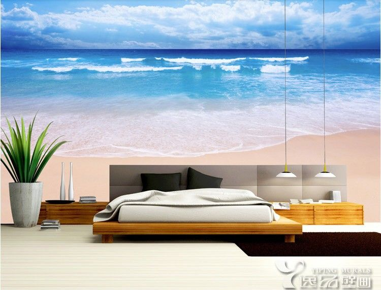 Attractive Turquoise Sea Mural Wallpaper Wall Mural | MuralsWallpaper.co.uk | Sea  Murals, Wall Murals And Ocean