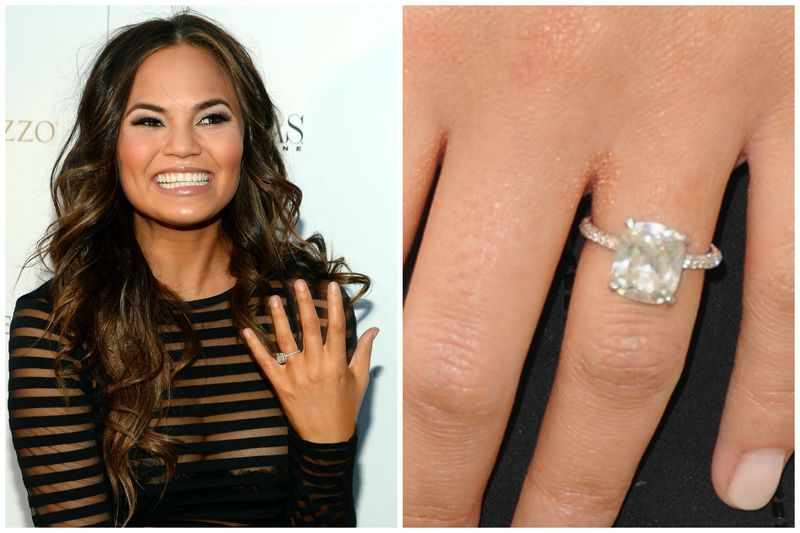 25 unforgettable celebrity engagement rings celebrity and ring ring 25 unforgettable celebrity engagement junglespirit Images