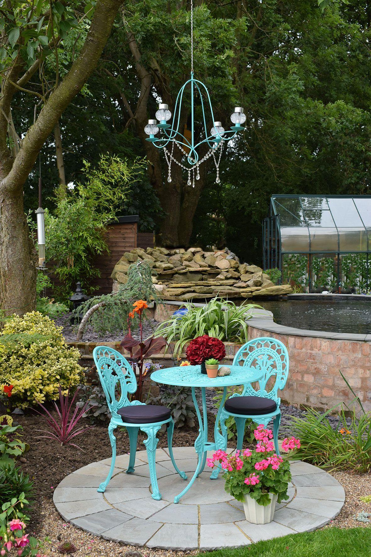 DIY Solar Chandelier to Glam up your Garden Diy solar