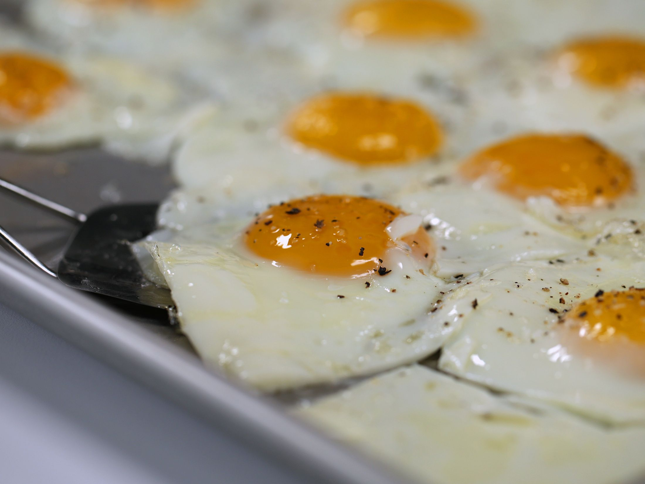 Photo of Sheet Pan Fried Eggs