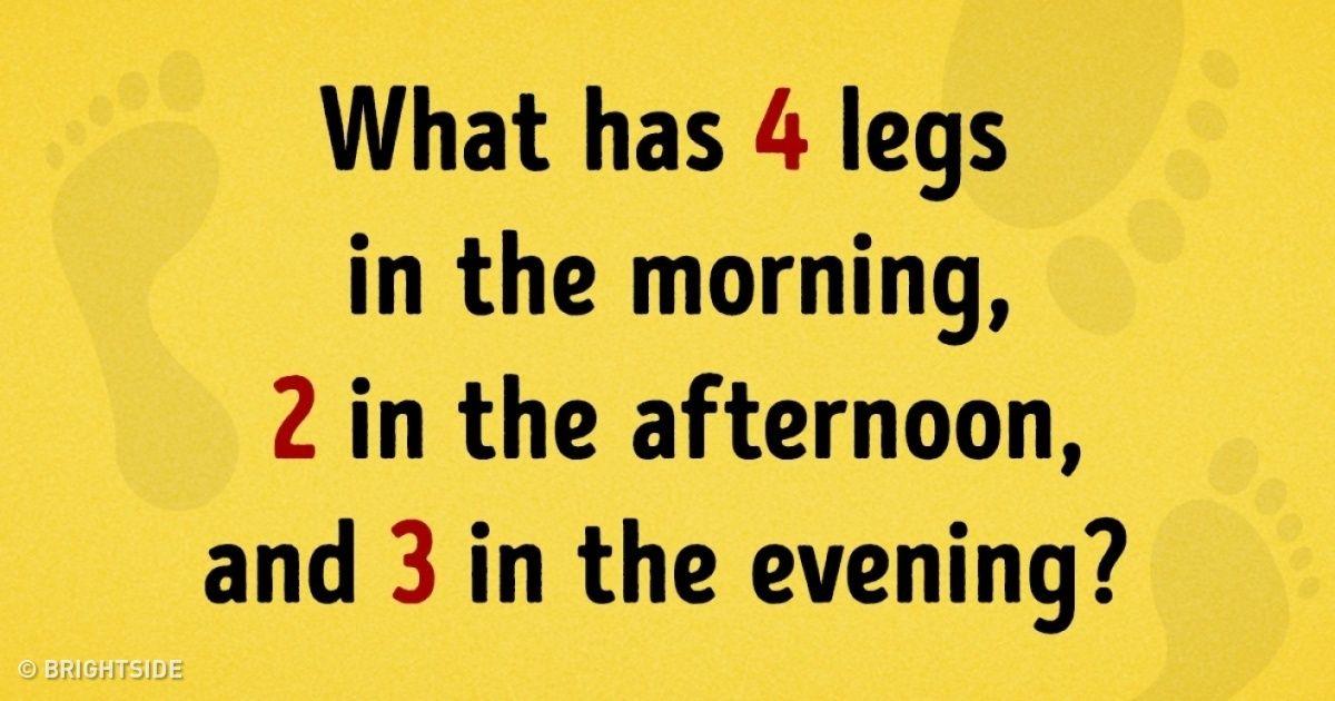 Weird Riddle Questions 9