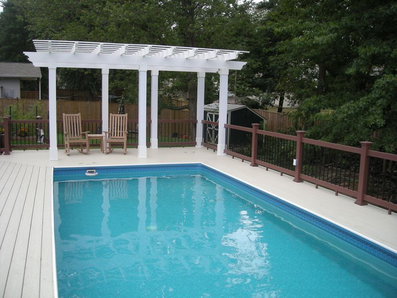 Intex Pergola Pool Pergola Intek Trellis Pergola Above